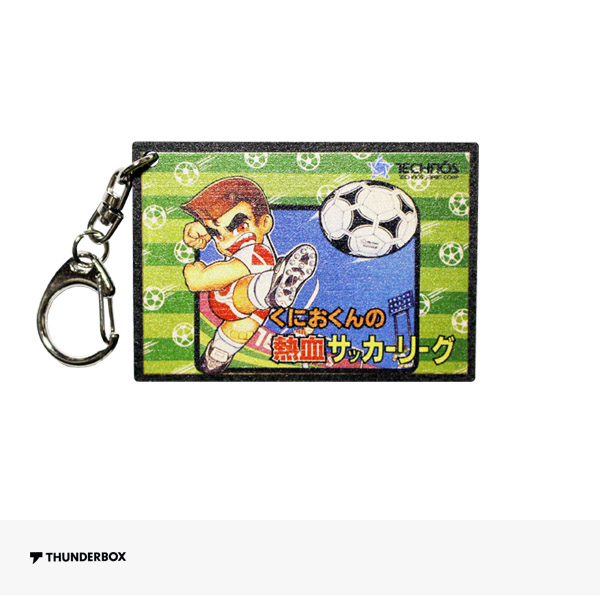 THUNDERBOX KUNIO FAMICOM COMPLETE KEY HOLDER | 熱血サッカーリーグ / サンダーボックス キーホルダー