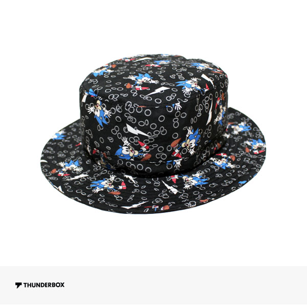 THUNDERBOX × SONIC THE HEDGEHOG HAT | BLACK / サンダーボックス ハット
