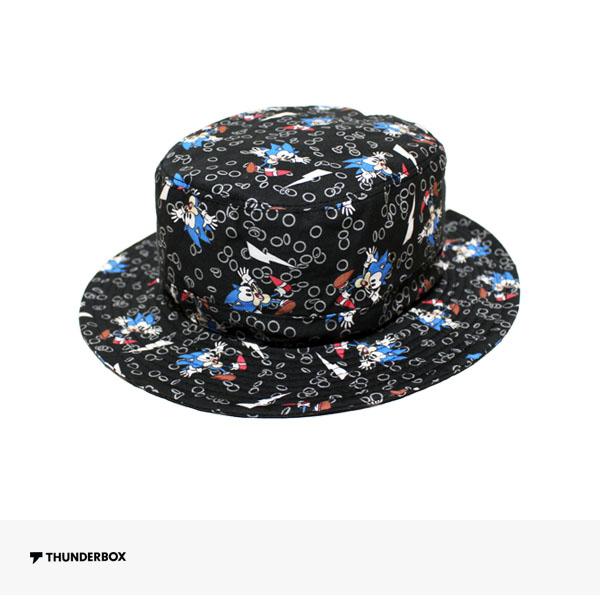 THUNDERBOX × SONIC THE HEDGEHOG HAT | BLACK / サンダーボックス ハット
