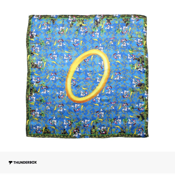 THUNDERBOX × SONIC THE HEDGEHOG SCARF | BLUE / サンダーボックス スカーフ