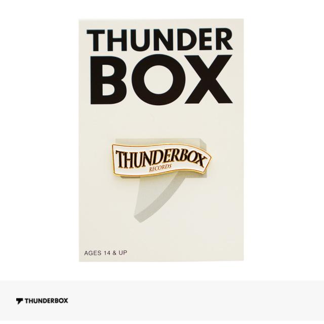 THUNDERBOX RECORDS PINS / サンダーボックス ピンズ