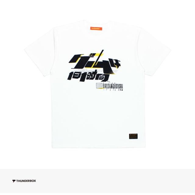 THUNDERBOX + TAKAHASHI MEIJIN ゲームは1日1時間 TEE | WHITE / サンダーボックス Tシャツ
