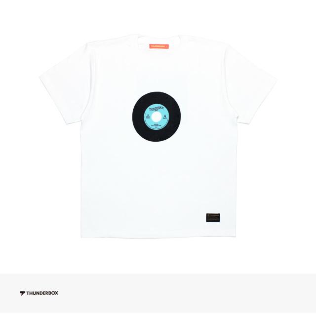 2019 SPRING THUNDERBOX NOON(Salt content 5%) TEE | WHITE / サンダーボックス Tシャツ