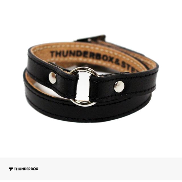 THUNDERBOX BGM BRACELET | BLACK / サンダーボックス ブレスレット