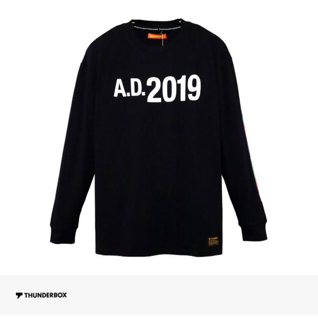 THUNDERBOX A.D.2019 L/S TEE | BLACK / サンダーボックス Tシャツ