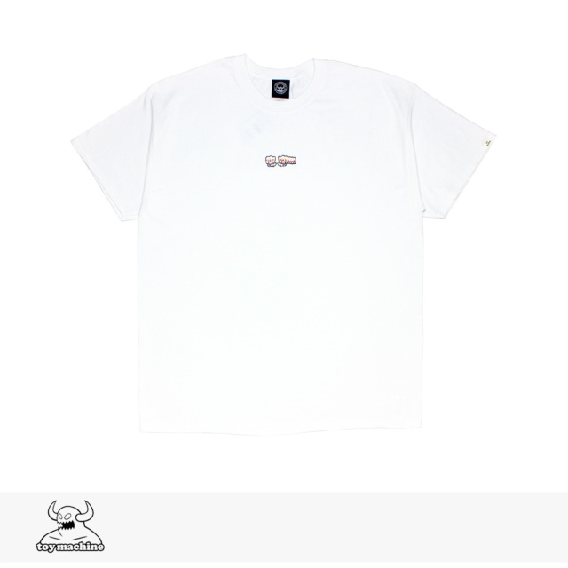 TOY MACHINE FIST EMB SS TEE | WHITE / トイマシーン Tシャツ