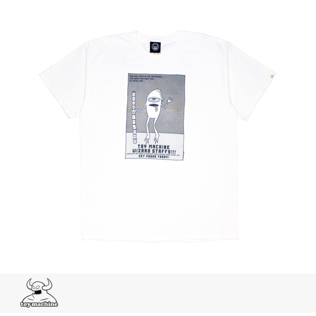 TOY MACHINE SECT STAFF PIGMENT PRINT SS TEE / トイマシーン Tシャツ