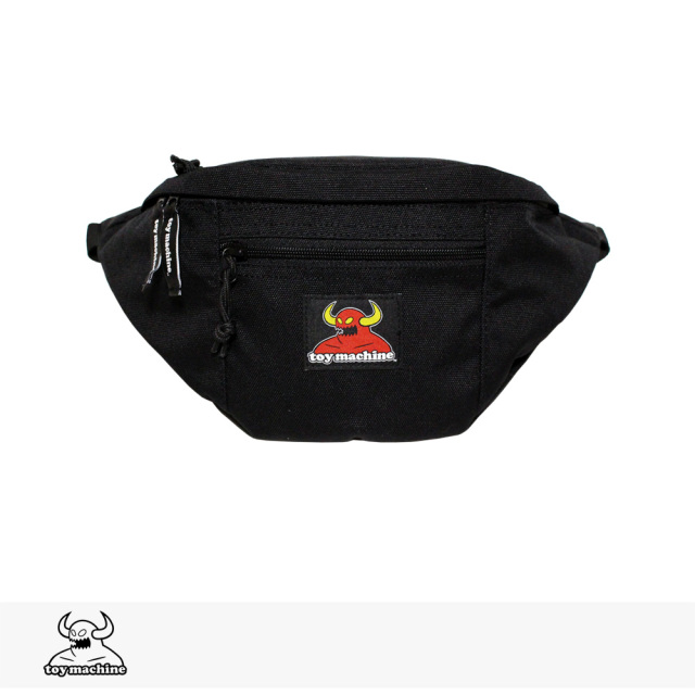 TOY MACHINE MONSTER WAIST POUCH | BLACK / トイマシーン ウエストポーチ