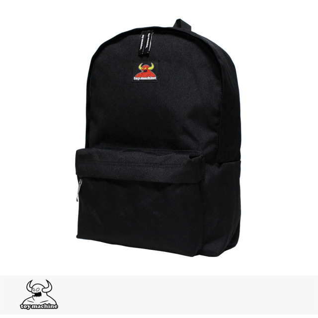 TOY MACHINE SECT DAYPACK | BLACK / トイマシーン バッグ