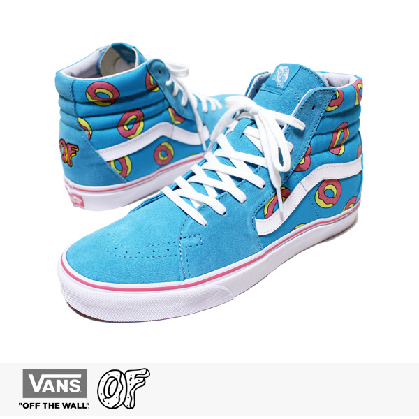 ラスト1点!VANS SK8-HI OF DONUT SCUBA BLUE (ODD FUTURE) / バンズ