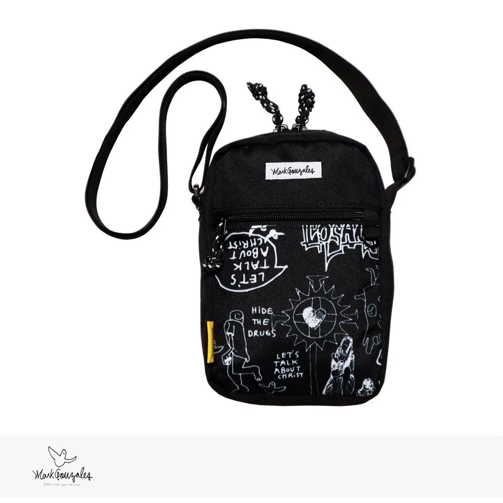2020 F/W MARK GONZALES MINI SHOULDER BAG | WHITE / マークゴンザレス バッグ