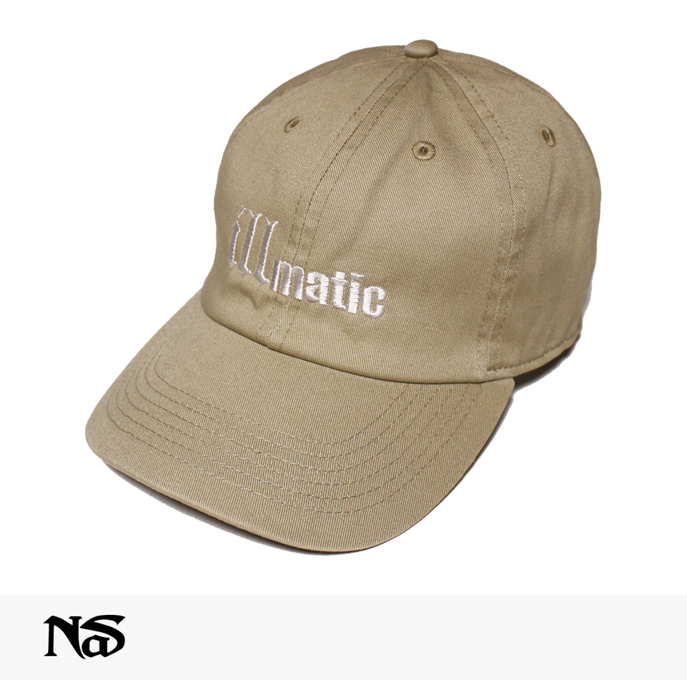 NAS OFFICIAL MERCHANDISE ILLMATIC CAP | BEIGE / ナズ キャップ