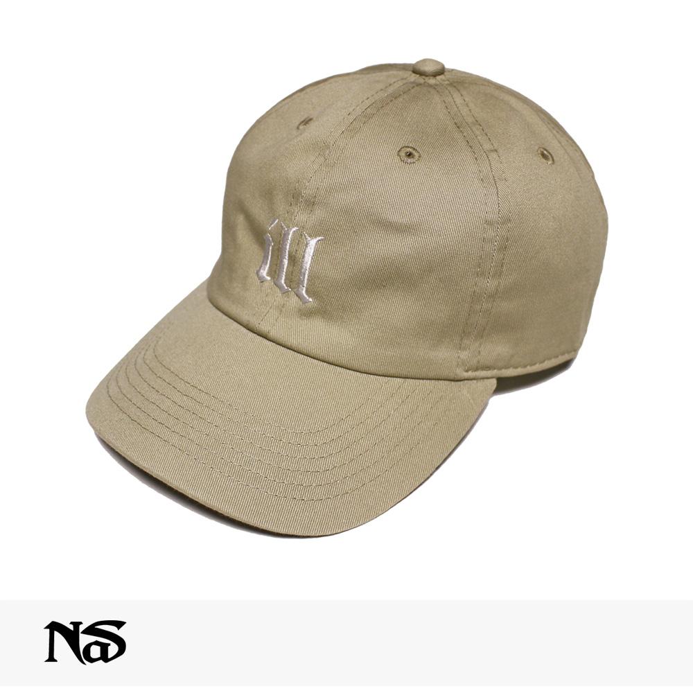 NAS OFFICIAL MERCHANDISE ILL CAP   BEIGE / ナズ キャップ