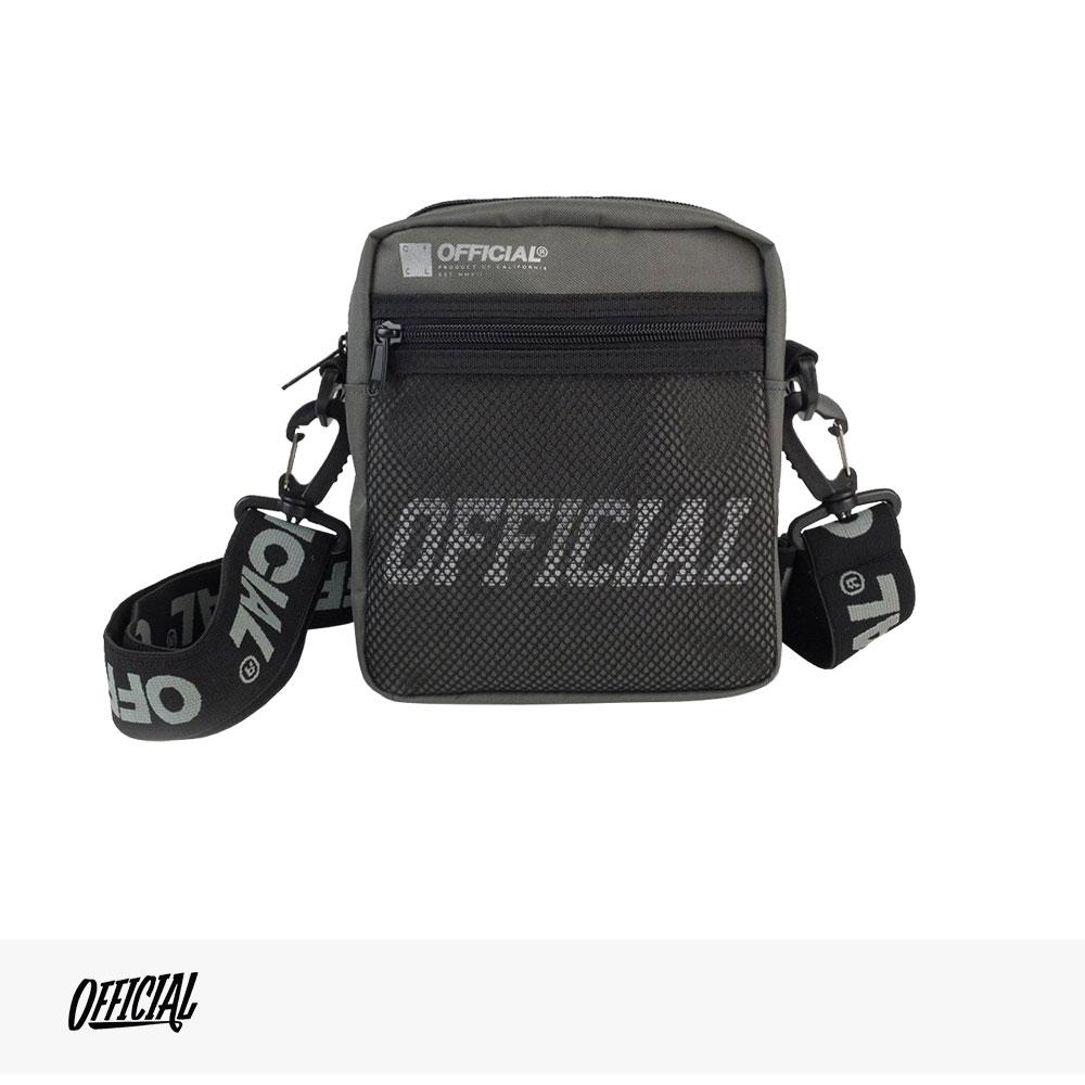OFFICIAL MELROSE HIP UTILITY BAG | GRAY / オフィシャル バッグ