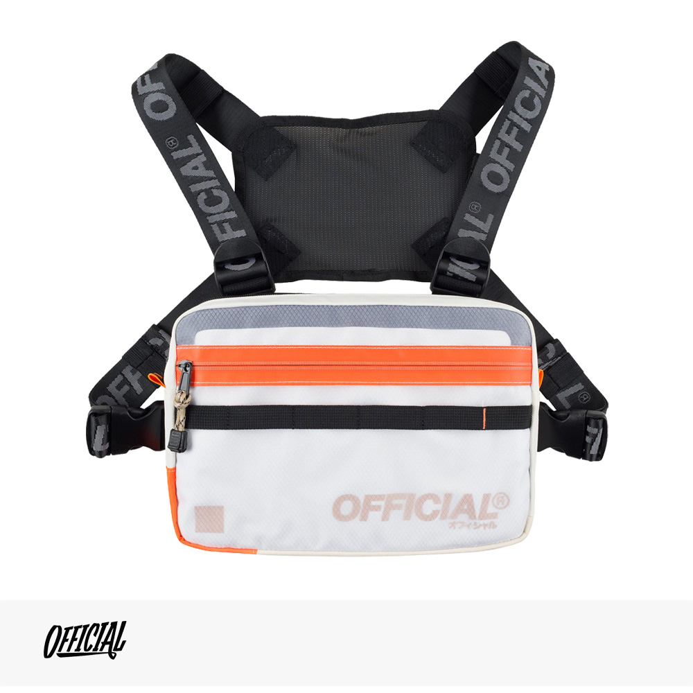 OFFICIAL VAPOUR CHEST UTILITY BAG | CLOUD WHITE / オフィシャル バッグ