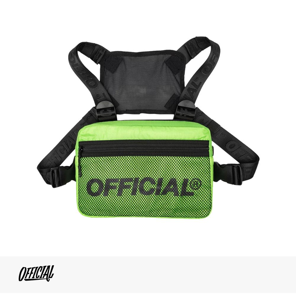 OFFICIAL MELROSE 2.0 CHEST UTILITY BAG | HI-VIS YELLOW / オフィシャル バッグ
