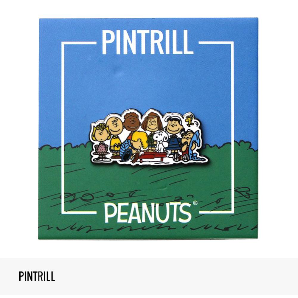 PINTRILL × PEANUTS GROUP PIN / ピントリル ピンズ