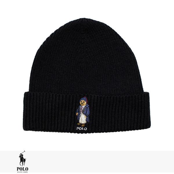 POLO RALPH LAUREN POLO BEAR BEANIE CAP / ラルフローレン ニット帽