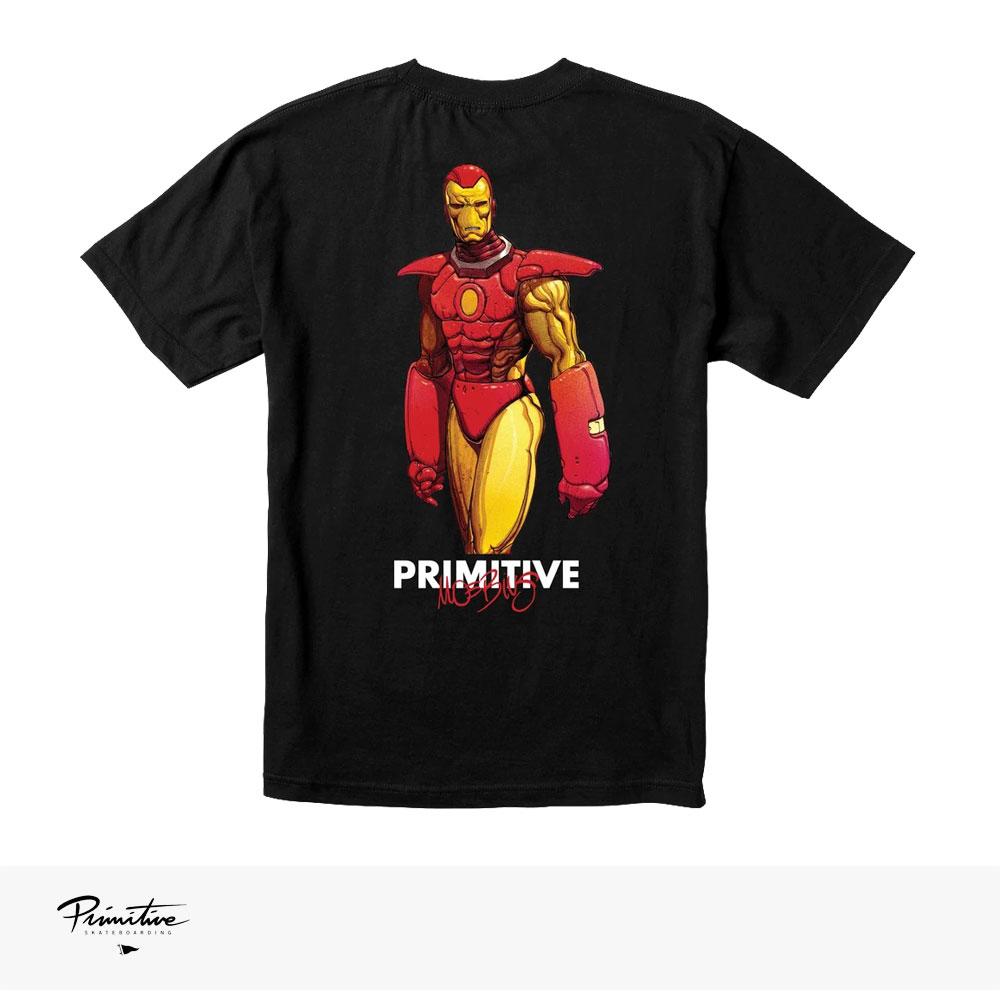 PRIMITIVE × MARVEL × MOEBIUS IRON MAN TEE / プリミティブ Tシャツ