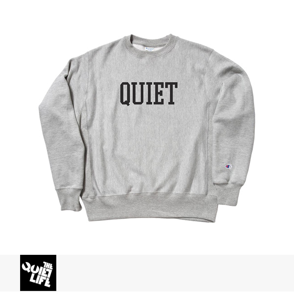 2017 HOLIDAY THE QUIET LIFE CHAMP CREW NECK / クワイエットライフ スウェット