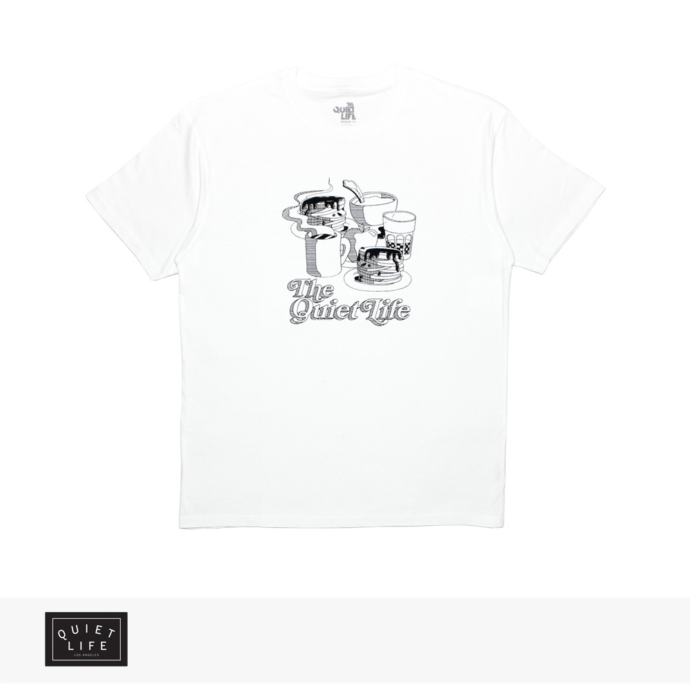 2019 SPRING THE QUIET LIFE PANCAKES TEE PREMIUM / クワイエットライフ Tシャツ