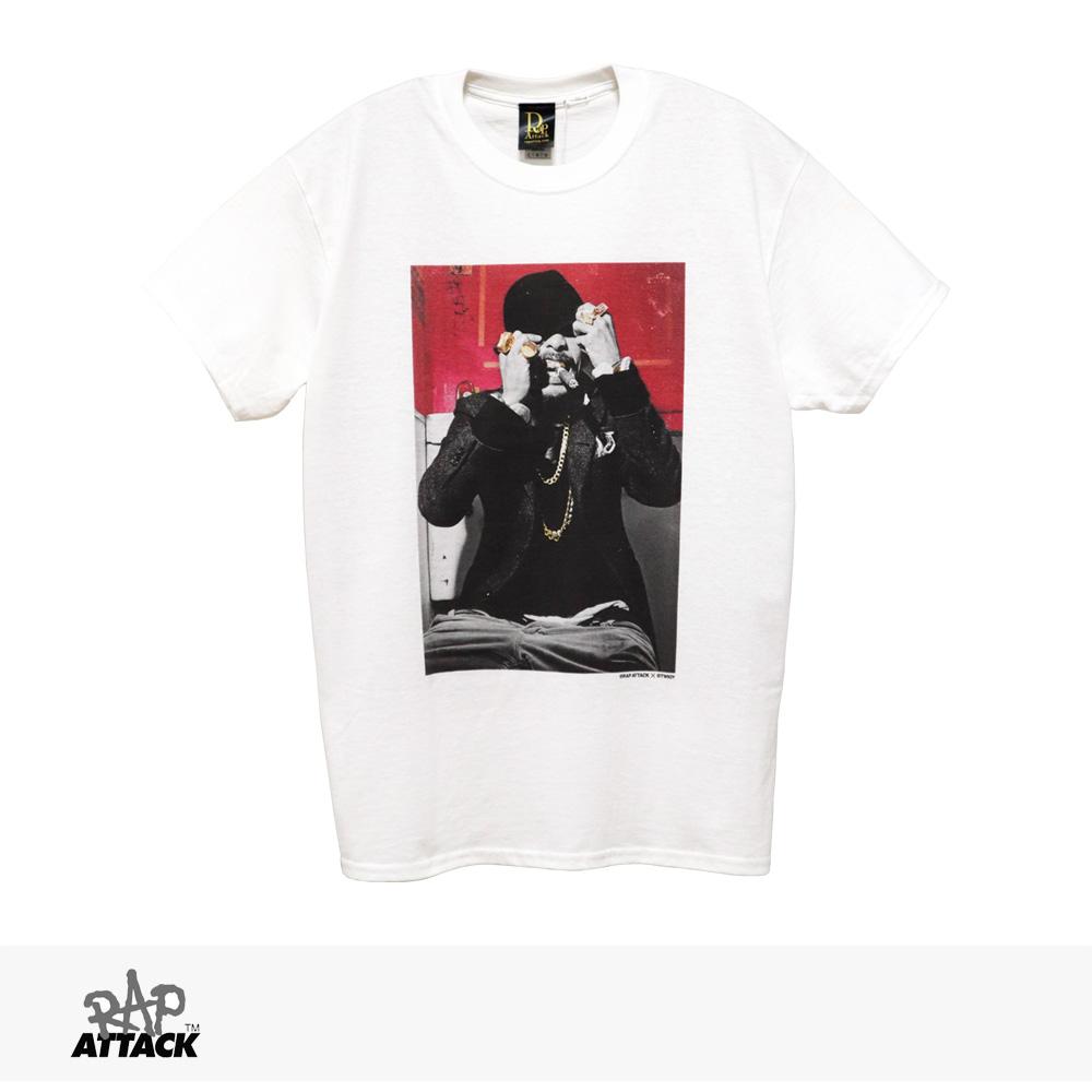 RAP ATTACK × TWIGY TOILET TEE   WHITE / ラップアタック Tシャツ