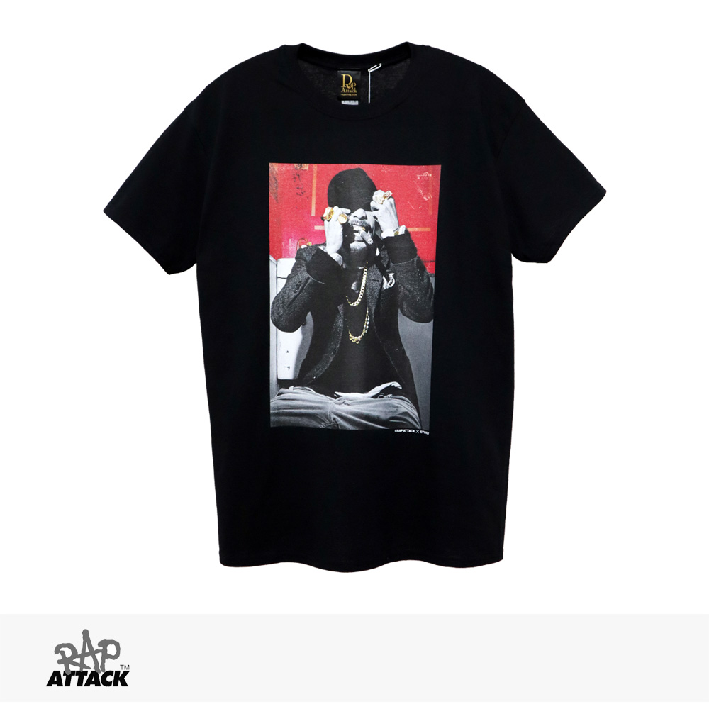 RAP ATTACK × TWIGY TOILET TEE   BLACK / ラップアタック Tシャツ