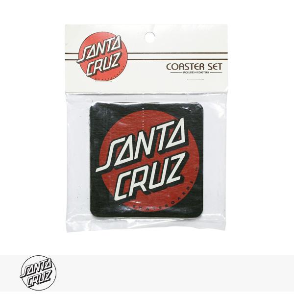SANTA CRUZ DOT COASTER 4 PACK / サンタクルーズ コースター