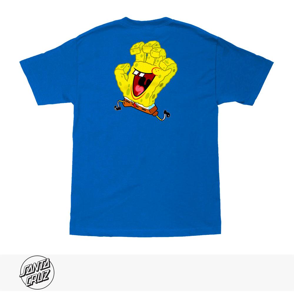 SANTA CRUZ × SPONGEBOB SQUAREPANTS HAND TEE / サンタクルーズ Tシャツ