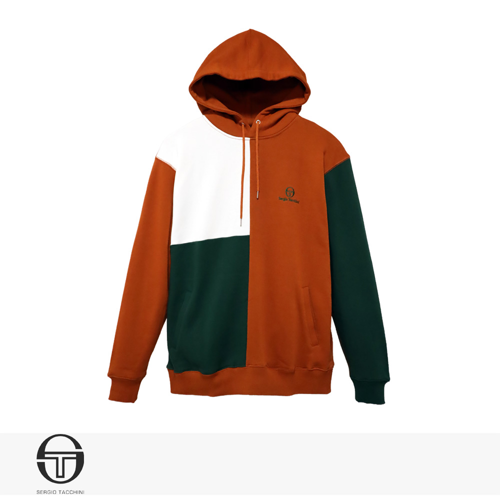 SERGIO TACCHINI GRANDSLAM HOODIE | COPPER ORANGE / セルジオタッキーニ パーカー