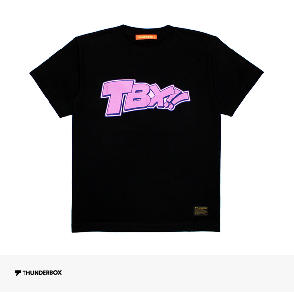 2018 SUMMER THUNDERBOX TBX!! TEE | BLACK / サンダーボックス Tシャツ