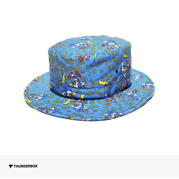 THUNDERBOX × SONIC THE HEDGEHOG HAT | BLUE / サンダーボックス ハット