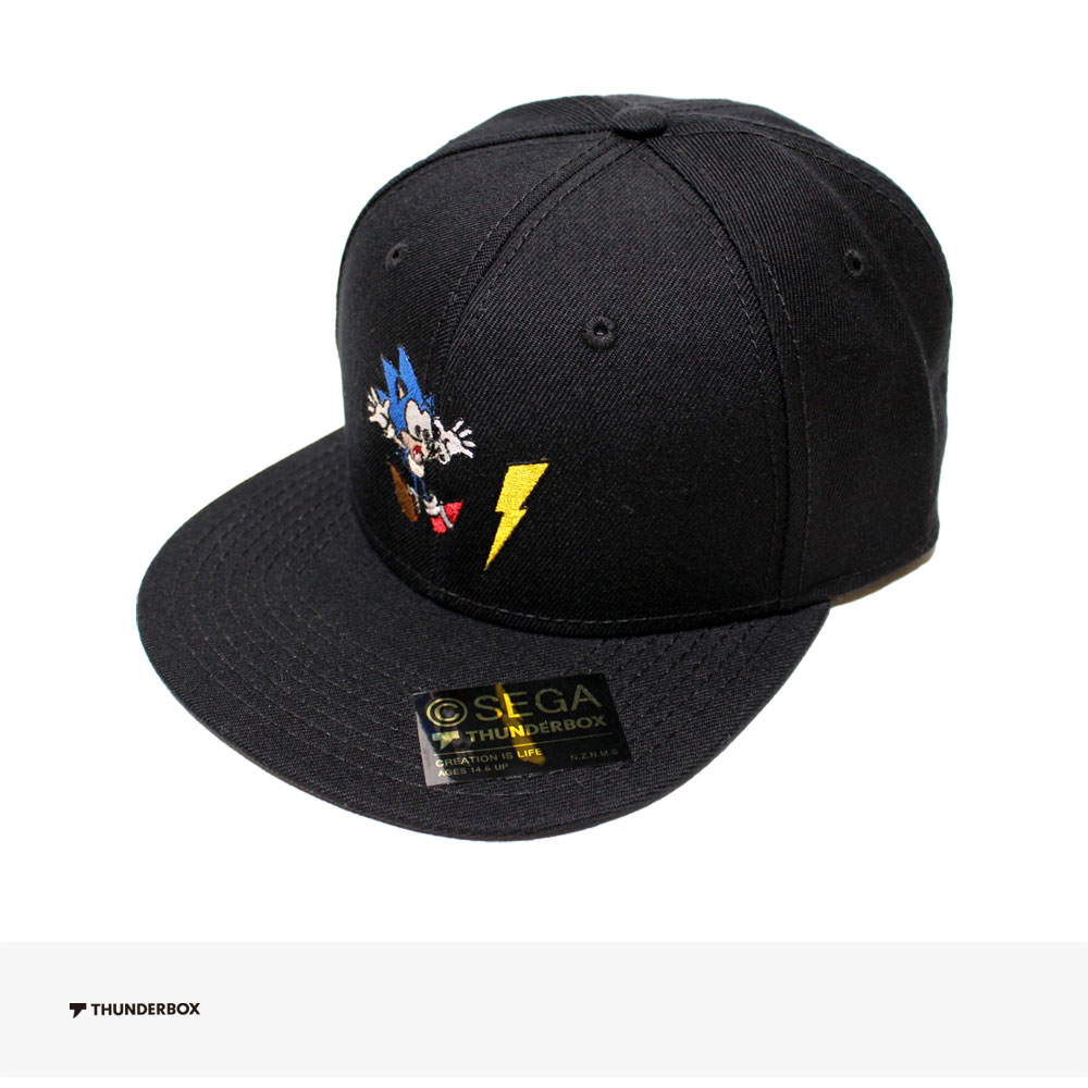 THUNDERBOX × SONIC THE HEDGEHOG SONIC THUNDER CAP / サンダーボックス キャップ