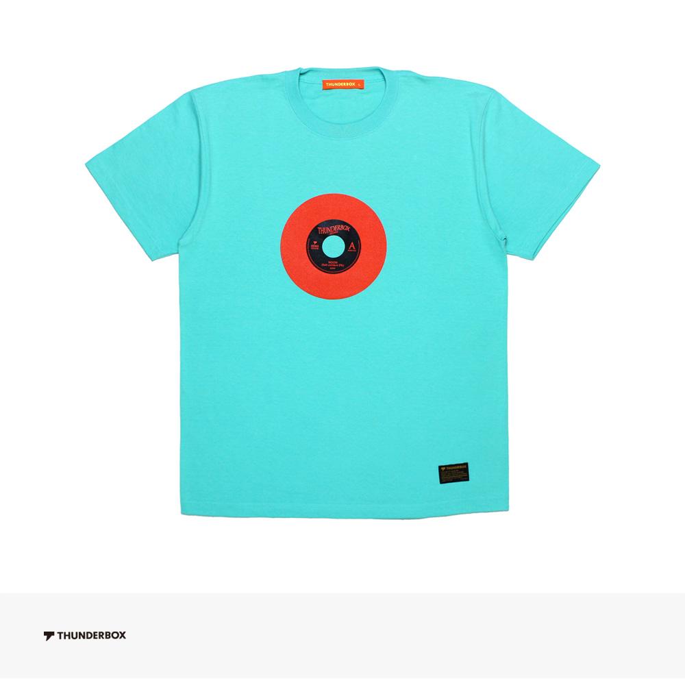 2019 SPRING THUNDERBOX NOON(Salt content 5%) TEE | MINT GREEN / サンダーボックス Tシャツ