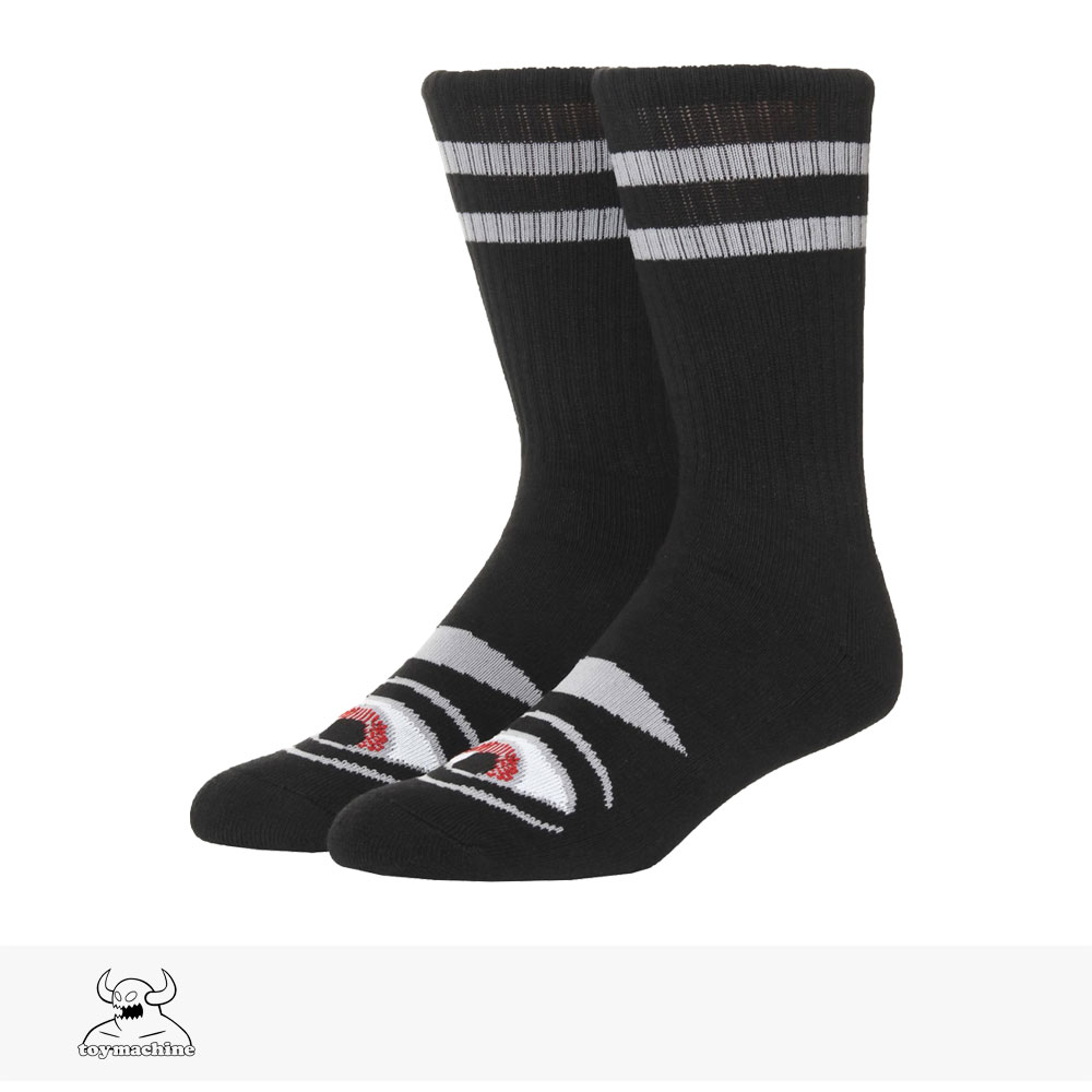 TOY MACHINE SECT EYE SOCKS | BLACK / トイマシーン ソックス