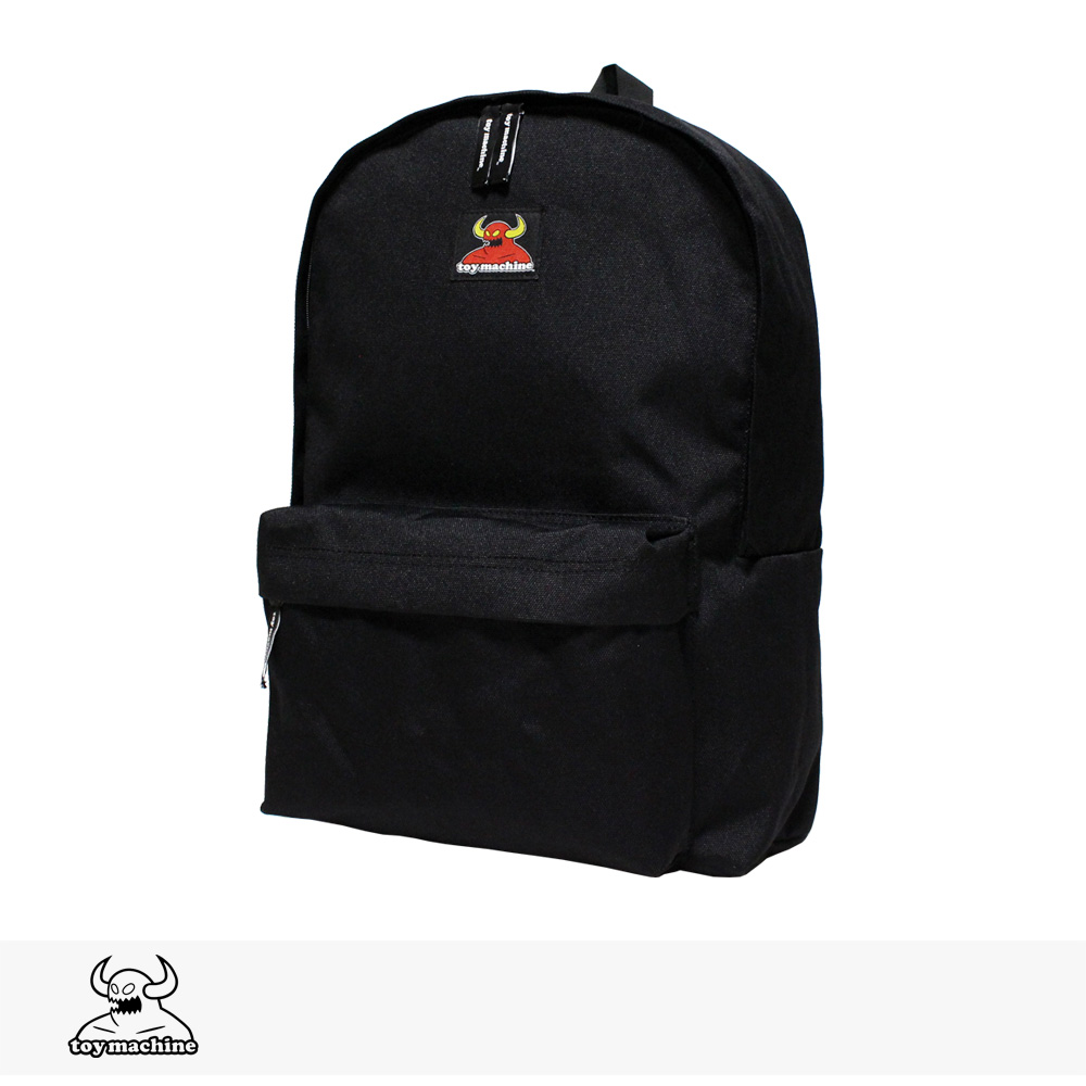 TOY MACHINE SECT DAYPACK   BLACK / トイマシーン バッグ