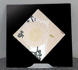 黒艶漆「白菊」