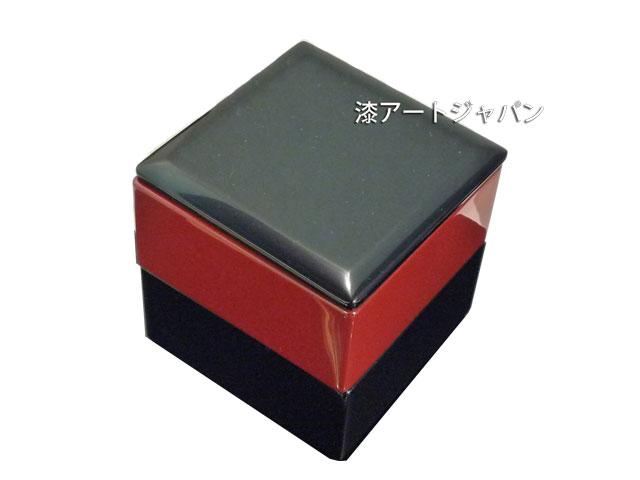 【漆アートジャパン】コンビネーション二段小重箱