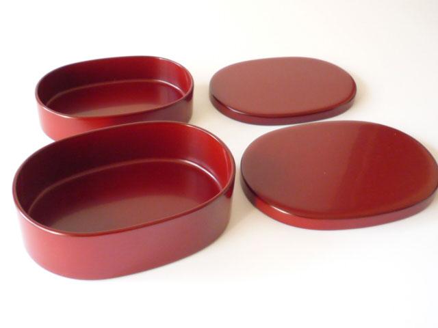 輪島漆塗り 二段お弁当箱