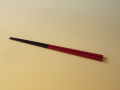 輪島漆塗 圭太がまれにプレゼントしたお箸 「塗師屋のお箸(赤)」 溜め色