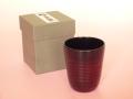 輪島塗 フリーカップ 溜め色(ためいろ=自然な漆の茶色)