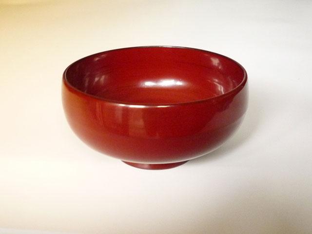 漆アートジャパン 「楽し椀」 うるみ うるみは品の良い少し深みのある赤