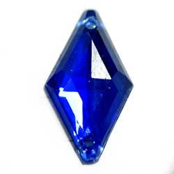 18×10 アクリルカボ 菱形 サファイア