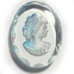 40×30 グラスインタリオ 水色