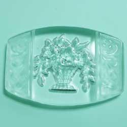 25×17 グラスインタリオ 花籠