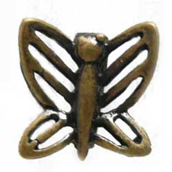 バチカン 正面穴 蝶 真鍮古美