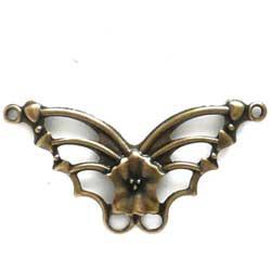 コネクター 蝶 真鍮古美