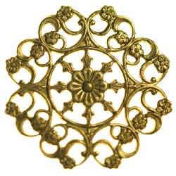 フィリグリー 華紋 真鍮