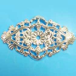 フィリグリー 菱形 銀