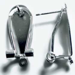 フラメンコピアス 1カン クリップ式ピアス&イヤリング 銀